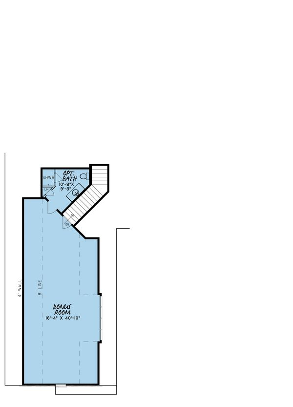 European Floor Plan - Other Floor Plan Plan #923-8