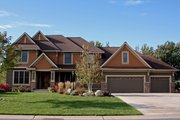 Craftsman Style House Plan - 4 Beds 2.5 Baths 3074 Sq/Ft Plan #51-443 Exterior - Other Elevation
