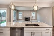 Colonial Style House Plan - 6 Beds 3 Baths 3206 Sq/Ft Plan #1066-76 Interior - Kitchen