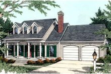 House Plan Design - Farmhouse Exterior - Front Elevation Plan #406-236