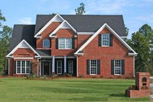 Country Exterior - Front Elevation Plan #927-258