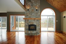 Cottage Interior - Family Room Plan #23-2047