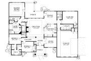 European Style House Plan - 4 Beds 3 Baths 2220 Sq/Ft Plan #80-149