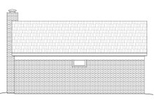 Country Exterior - Rear Elevation Plan #932-135