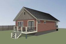 Dream House Plan - Cottage Exterior - Other Elevation Plan #79-108