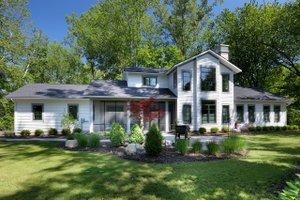 House Blueprint - Contemporary Exterior - Front Elevation Plan #928-326