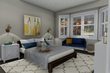 Ranch Interior - Master Bedroom Plan #1060-2