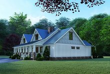 House Plan Design - Craftsman Exterior - Other Elevation Plan #923-123