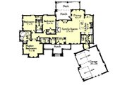 Craftsman Style House Plan - 3 Beds 2.5 Baths 2005 Sq/Ft Plan #921-27 Floor Plan - Main Floor Plan