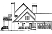 House Design - Classical Exterior - Other Elevation Plan #429-16