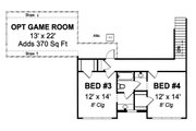 Farmhouse Style House Plan - 4 Beds 3 Baths 2481 Sq/Ft Plan #513-2050 Floor Plan - Upper Floor Plan
