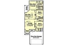 European Floor Plan - Main Floor Plan Plan #430-50
