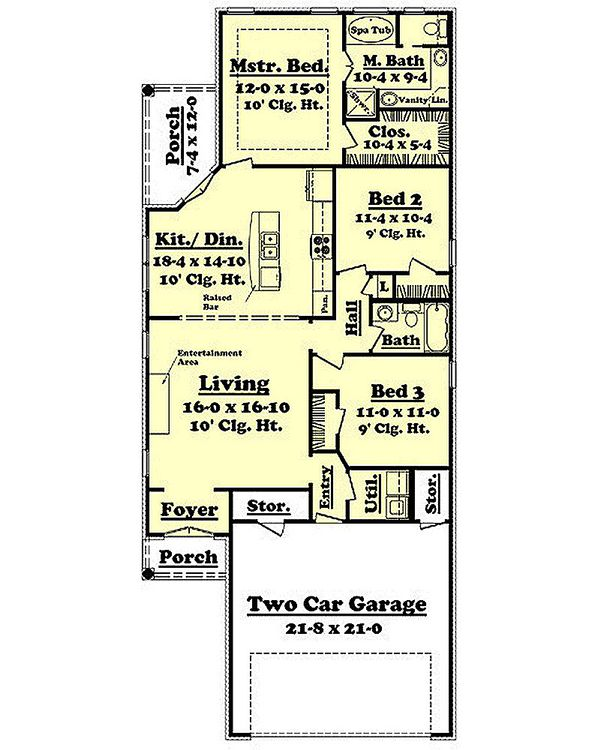 acadian house plan rear garage html with Dhsw076984 on Lockwood Ranch Home Plan 007d in addition Bb 2800 additionally 2047 Sq Ft Home 1 Story 3 Bedroom 2 Bath House Plans Plan91 156 further Hwepl77047 likewise Dhsw076984.