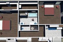 House Plan Design - Farmhouse Interior - Master Bathroom Plan #44-249