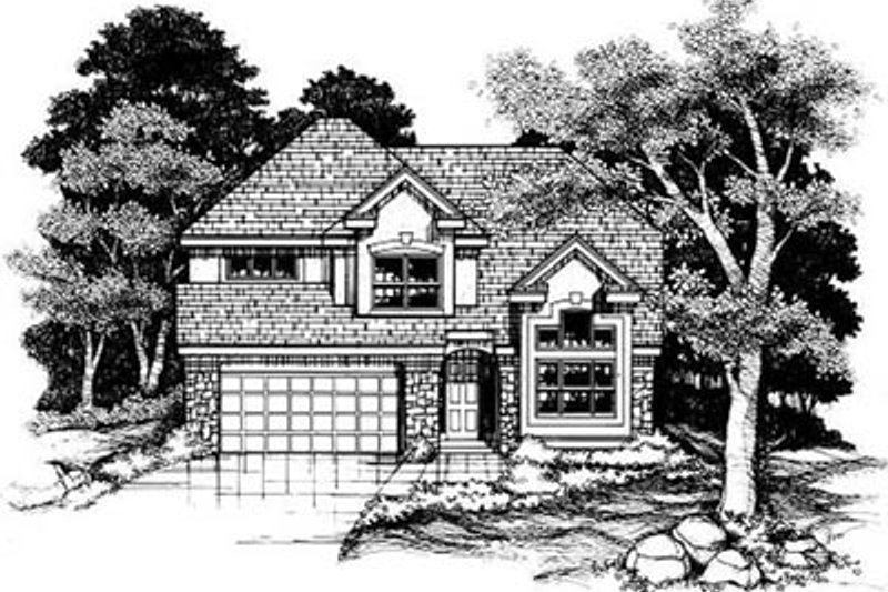 Traditional Exterior - Front Elevation Plan #50-176