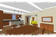 European Style House Plan - 4 Beds 3 Baths 2590 Sq/Ft Plan #460-4 Photo