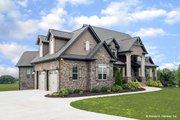 Craftsman Style House Plan - 3 Beds 3.5 Baths 3647 Sq/Ft Plan #929-361
