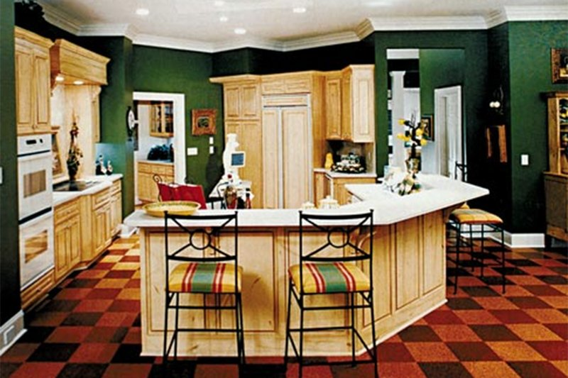 Country Interior - Kitchen Plan #927-37 - Houseplans.com