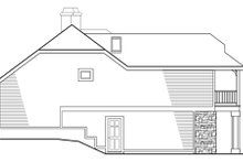 Country Exterior - Other Elevation Plan #124-438