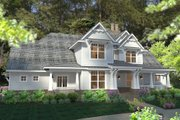 Craftsman Style House Plan - 3 Beds 2.5 Baths 2575 Sq/Ft Plan #120-183 Exterior - Front Elevation