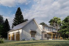 Farmhouse Exterior - Other Elevation Plan #923-173