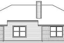 Traditional Exterior - Rear Elevation Plan #84-203