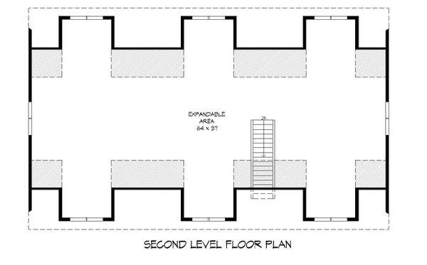 Country Floor Plan - Upper Floor Plan Plan #932-248