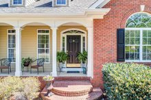 Traditional Exterior - Covered Porch Plan #437-110