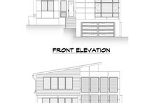 Modern Exterior - Other Elevation Plan #1066-109
