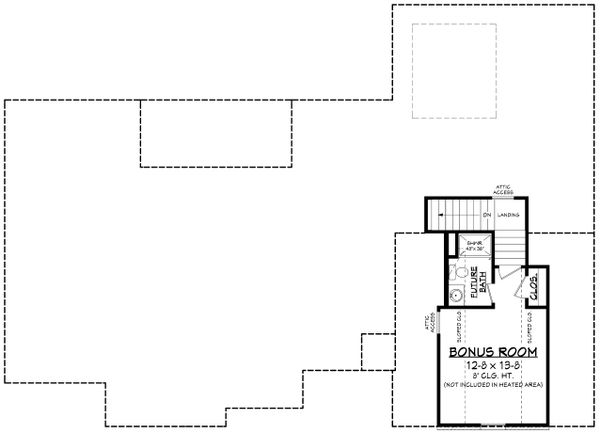 Architectural House Design - Traditional Floor Plan - Other Floor Plan #430-228