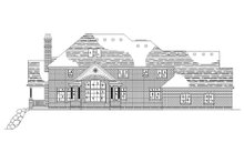 Home Plan - Traditional Exterior - Rear Elevation Plan #5-226