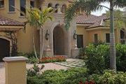 Mediterranean Style House Plan - 5 Beds 7 Baths 5474 Sq/Ft Plan #27-503 Photo