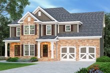 Traditional Exterior - Front Elevation Plan #419-125