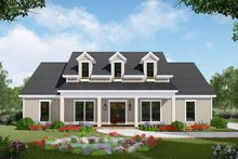 House Plan Design - Farmhouse Exterior - Front Elevation Plan #21-443