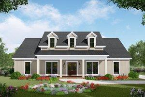 Farmhouse Exterior - Front Elevation Plan #21-443