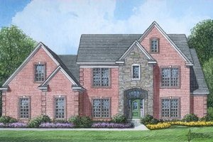 Traditional Exterior - Front Elevation Plan #424-50