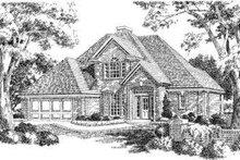 Dream House Plan - European Exterior - Front Elevation Plan #310-146