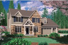 Home Plan - Craftsman Exterior - Front Elevation Plan #48-392