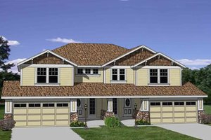 Traditional Exterior - Front Elevation Plan #116-285
