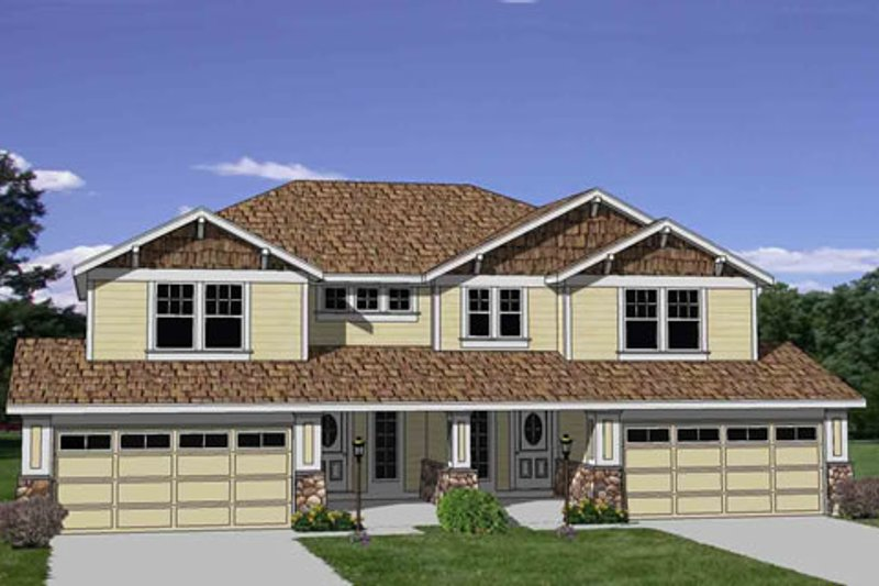 Traditional Style House Plan - 3 Beds 2.5 Baths 3286 Sq/Ft Plan #116-285