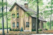 House Plan Design - Modern Exterior - Front Elevation Plan #23-2145