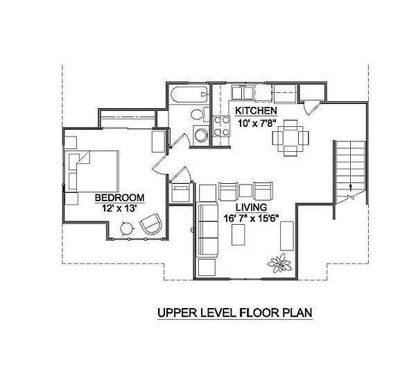 Tudor Floor Plan - Main Floor Plan #116-227