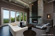Craftsman Style House Plan - 4 Beds 4 Baths 3014 Sq/Ft Plan #929-937 Interior - Family Room