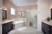 Contemporary Style House Plan - 4 Beds 4 Baths 3582 Sq/Ft Plan #938-92 Interior - Master Bathroom