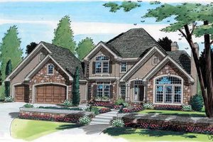 Traditional Exterior - Front Elevation Plan #312-148
