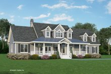 Farmhouse Exterior - Front Elevation Plan #929-727