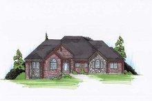 Dream House Plan - European Exterior - Front Elevation Plan #5-290