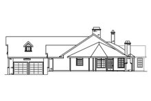 Dream House Plan - Ranch Exterior - Other Elevation Plan #124-383