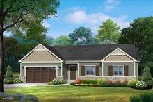 House Plan Design - Ranch Exterior - Front Elevation Plan #22-623