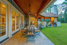 House Design - Craftsman Exterior - Outdoor Living Plan #17-2444